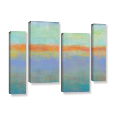 Brushstone Outer Limits 1 4-pc. Gallery Wrapped Staggered Canvas Wall Art