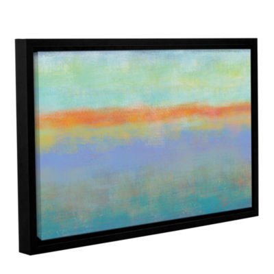 Brushstone Outer Limits 1 Gallery Wrapped Floater-Framed Canvas Wall Art