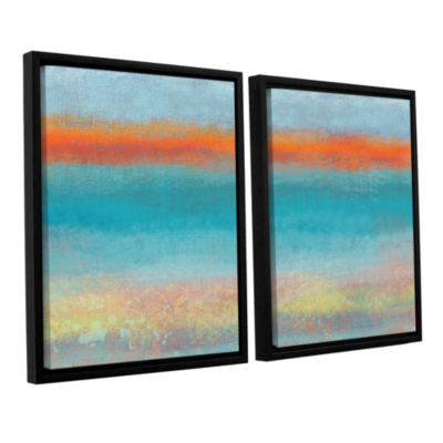 Brushstone Outer Limits 2 2-pc. Floater Framed Canvas Wall Art