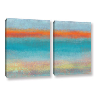 Brushstone Outer Limits 2 2-pc. Gallery Wrapped Canvas Wall Art
