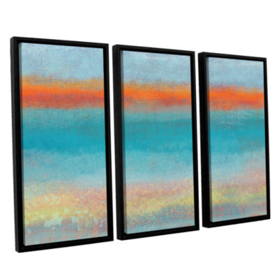 Brushstone Outer Limits 2 3-pc. Floater Framed Canvas Wall Art