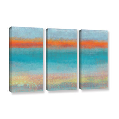 Brushstone Outer Limits 2 3-pc. Gallery Wrapped Canvas Wall Art