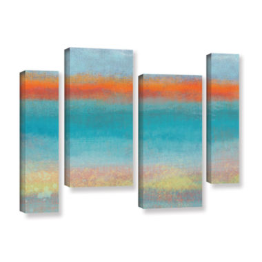 Brushstone Outer Limits 2 4-pc. Gallery Wrapped Staggered Canvas Wall Art