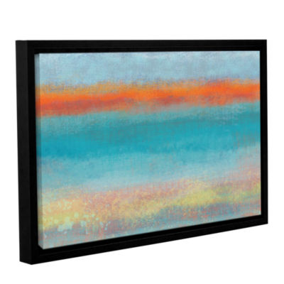 Brushstone Outer Limits 2 Gallery Wrapped Floater-Framed Canvas Wall Art