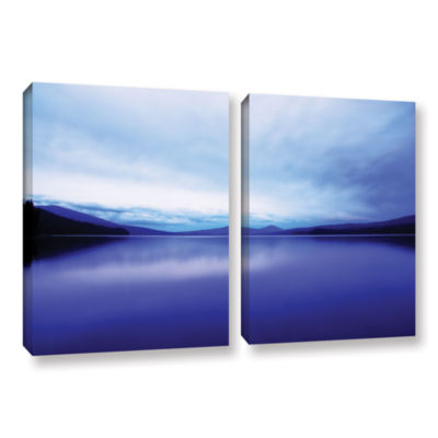 Brushstone Oregon-Odell Lake 2-pc. Gallery WrappedCanvas Wall Art