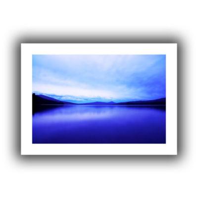 Brushstone Oregon-Odell Lake Canvas Wall Art