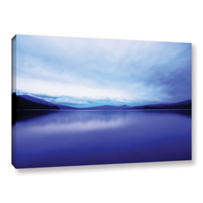 Brushstone Oregon-Odell Lake Gallery Wrapped Canvas Wall Art