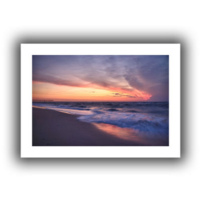 Brushstone Outer Banks Sunset I Canvas Wall Art