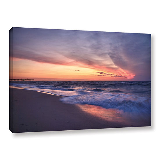 Brushstone Outer Banks Sunset I Gallery Wrapped Canvas Wall Art