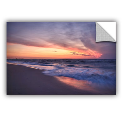 Brushstone Outer Banks Sunset I Removable Wall Decal