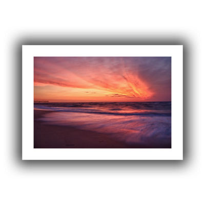 Brushstone Outer Banks Sunset II Canvas Wall Art