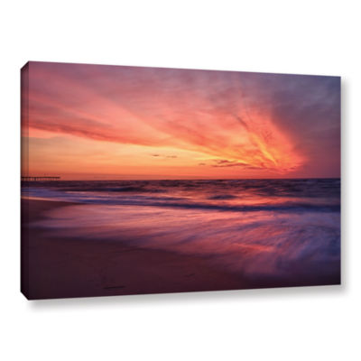 Brushstone Outer Banks Sunset II Gallery Wrapped Canvas Wall Art