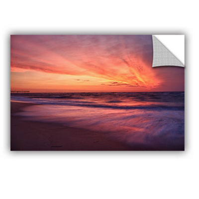 Brushstone Outer Banks Sunset II Removable Wall Decal