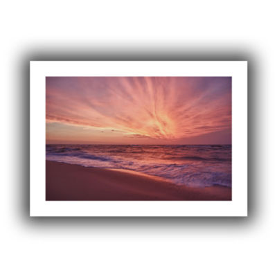 Brushstone Outer Banks Sunset III Canvas Wall Art