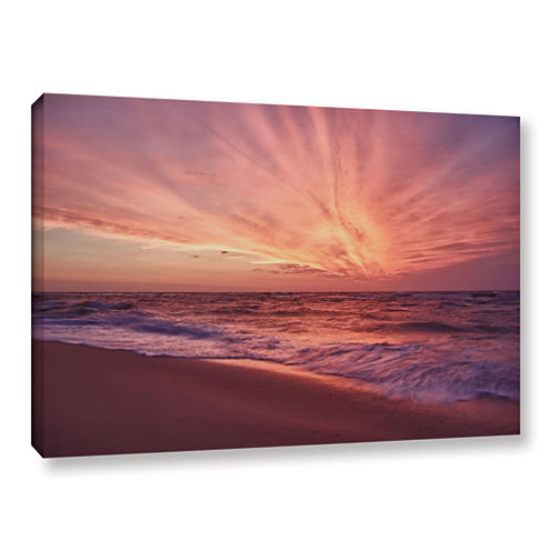 Brushstone Outer Banks Sunset III Gallery WrappedCanvas Wall Art