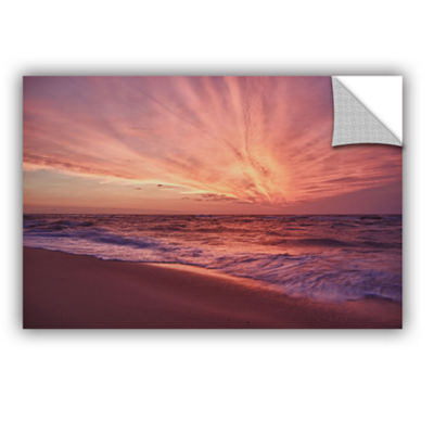 Brushstone Outer Banks Sunset III Removable Wall Decal