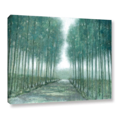 Brushstone Path Of Least Resistance Gallery Wrapped Canvas Wall Art