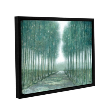 Brushstone Path Of Least Resistance Gallery Wrapped Floater-Framed Canvas Wall Art