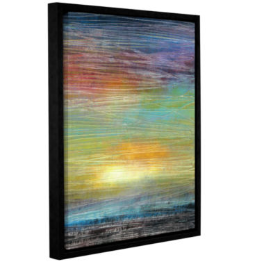 Brushstone Painted Sky Gallery Wrapped Floater-Framed Canvas Wall Art