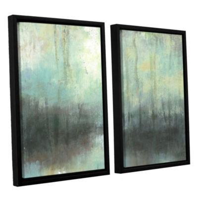 Brushstone Overcast 2-pc. Floater Framed Canvas Wall Art