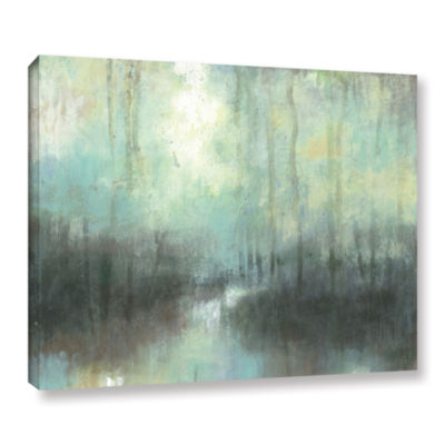 Brushstone Overcast Gallery Wrapped Canvas Wall Art