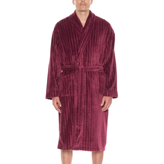 Residence Men's Fleece Long Sleeve Robe