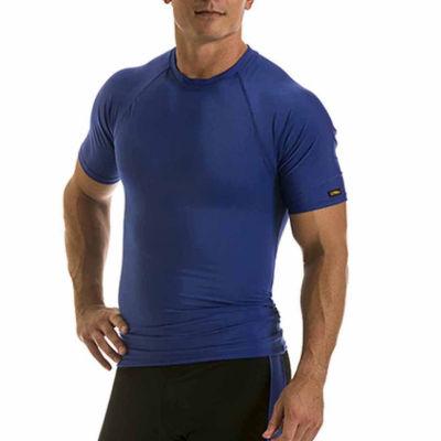 Insta Slim Men's Compression Short Sleeve Raglan Shirt