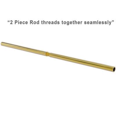 Allied Brass 72 Inch Shower Curtain Rod