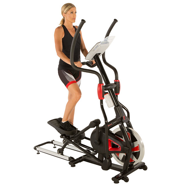 FITNESS REALITY X-Class 710 Bluetooth Smart Technology Elliptical Trainer with Flywheel TURBO Drive