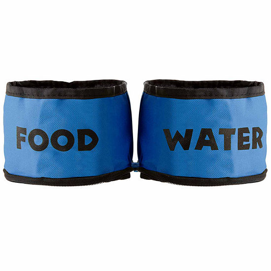 Petmaker Collapsible Travel Pet Bowls Set