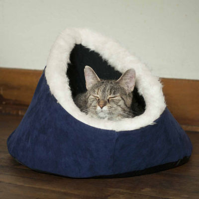 Petmaker Feline Cat Comfort Cavern Pet Bed