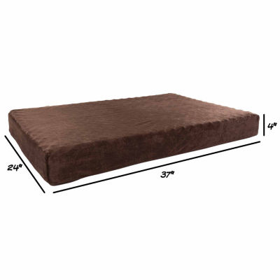Petmaker Orthopedic Pet Bed with Egg Crate and Memory Foam