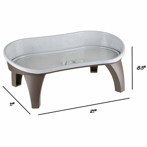 Petmaker Elevated Pet Feeding Tray