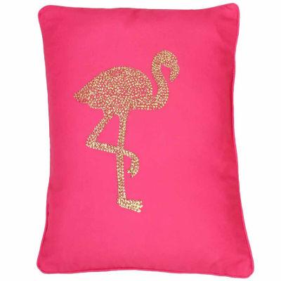 Thro by Marlo Lorenz Phyllis Flamingo Throw Pillow