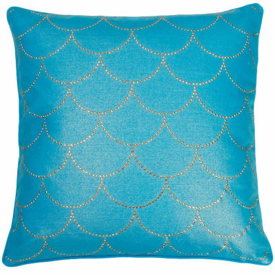 Thro by Marlo Lorenz Asa Diamond Scale Throw Pillow