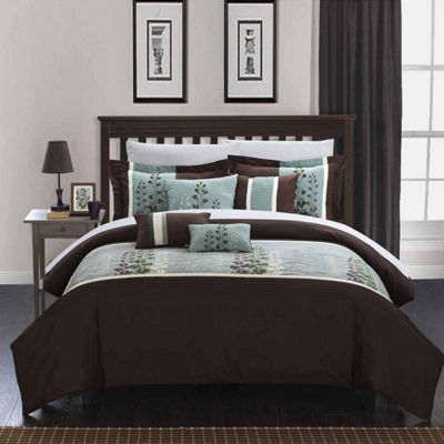 Chic Home Evan 12-pc. Midweight Comforter Set