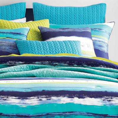 Queen Street Cameron Stripes Midweight Comforter Set