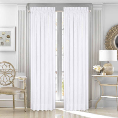 Five Queens Court Mackay Grommet-Top Curtain Panel