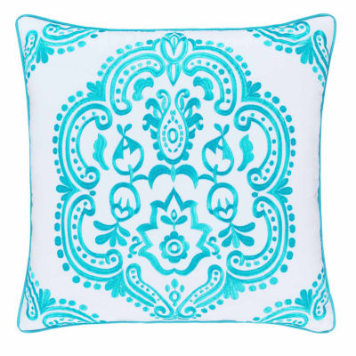 Queen Street Juniper Square Throw Pillow