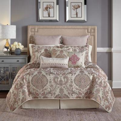 Croscill Classics Giulietta 4-pc. Damask + Scroll Comforter Set