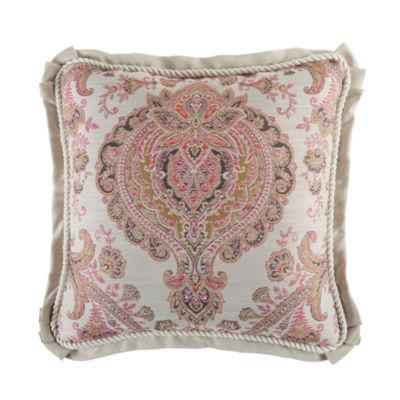 Croscill Classics Giulietta Square Throw Pillow