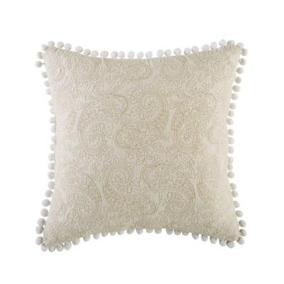 Croscill Classics Cela 16x16 Fashion Throw Pillow