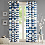 Intelligent Design Strider Grommet-Top Curtain Panel