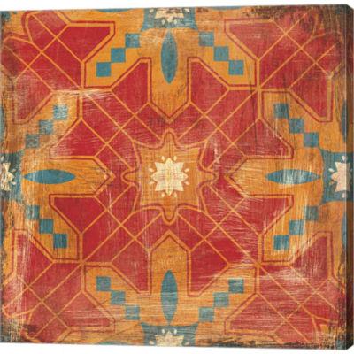 Metaverse Art Moroccans Tile II V2 Gallery WrappedCanvas Wall Art