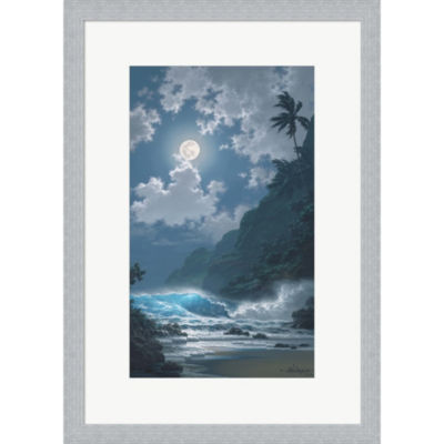 Metaverse Art Midnight Rhapsody Framed Print WallArt
