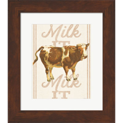 Metaverse Art Milk It Milk It Framed Print Wall Art