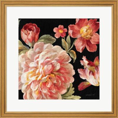 Metaverse Art Mixed Floral IV Crop I Framed PrintWall Art