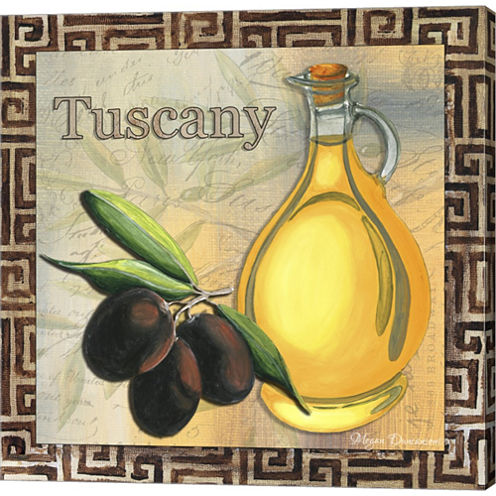 Olive Oil 1 Gallery Wrapped Canvas Wall Art On Deep Stretch Bars