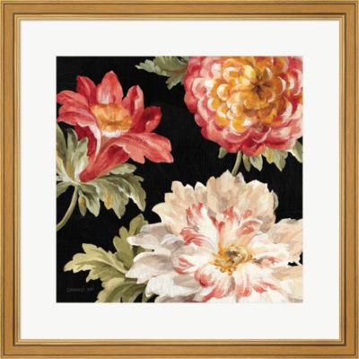 Metaverse Art Mixed Floral IV Crop II Framed PrintWall Art