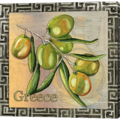Metaverse Art Olive Oil 4 Gallery Wrapped Canvas Wall Art